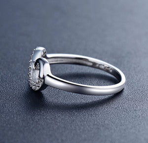 Infinity Sterling Silver Ring