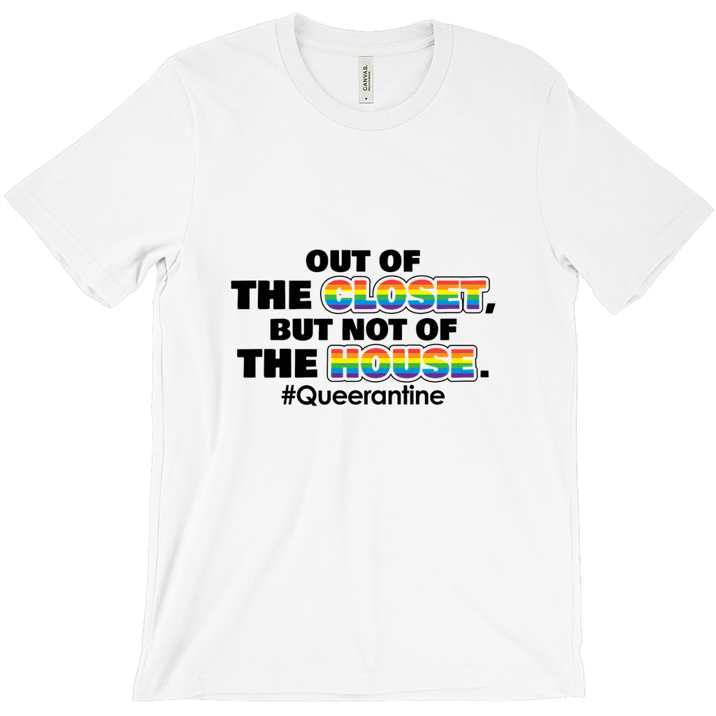 Out Of The Closet White Tee