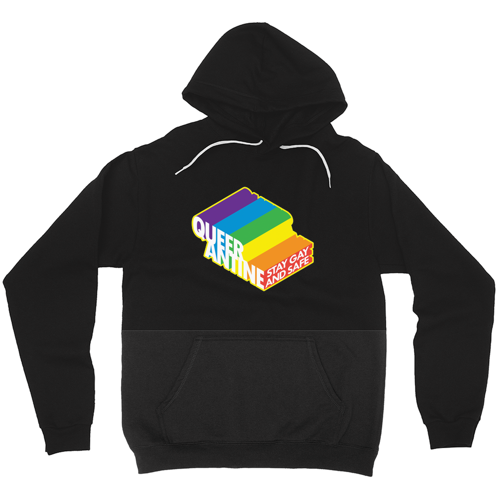 Queerantine Hoodies (No-Zip/Pullover)
