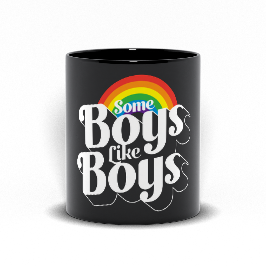 Boys Like Boys Mugs