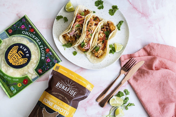 Gluten-free, Grain-free Fried Shrimp Tacos