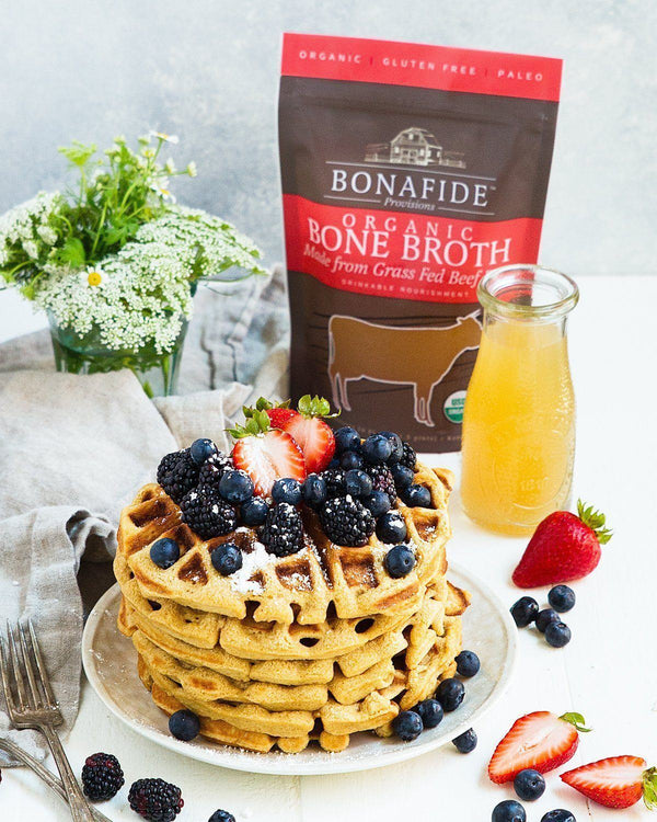 Grain Free Bone Broth Waffles