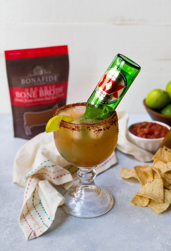 Bone Broth Michelada