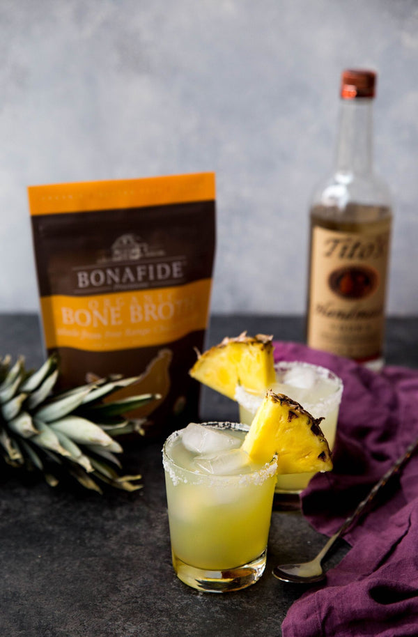 "Bone Broth ""Salty Dog"" Cocktail"