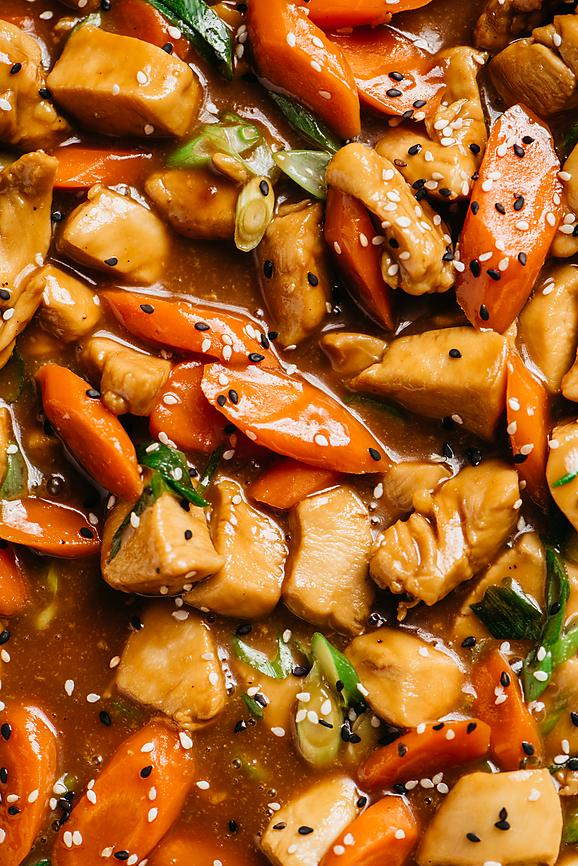 Healthy Orange Chicken Stir-Fry