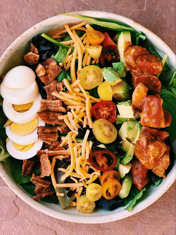 Instant Pot BBQ Chicken Salad