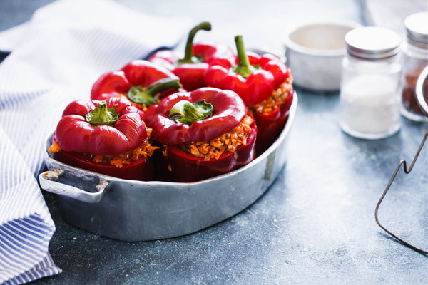 Paleo Stuffed Bell Peppers