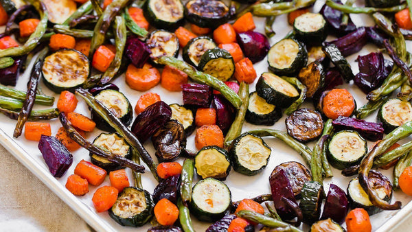 Whole30 Bone Broth Roasted Veggies