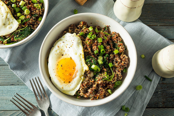 Savory Instant Pot Breakfast Quinoa