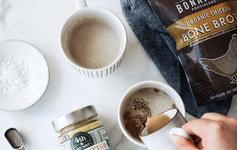 bone broth collagen coffee