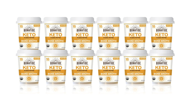 12-Pack Classic Butter Keto Broth