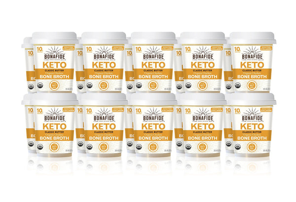 20-Pack Classic Butter Keto Broth