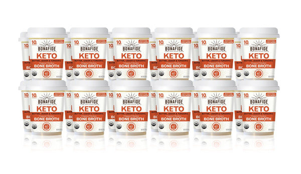 24-Pack Lemon, Turmeric & Butter Keto Broth