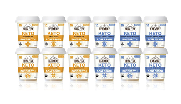 12-Pack Keto Broth Variety Pack
