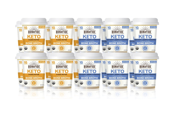 20-Pack Keto Broth Variety Pack