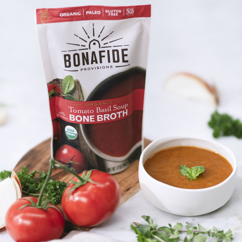 Organic Roasted Tomato Basil Soup
