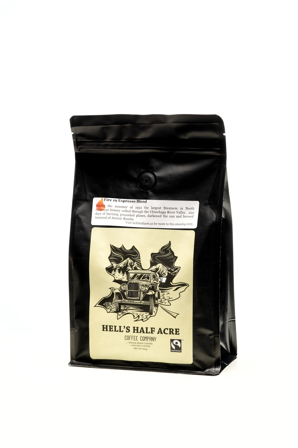 Fire 19 Espresso Blend FTO 400g  -  Cherries & Chocolate