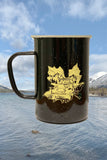 Hell's Half Acre Enamel Coffee Mug