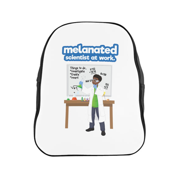 E=MC Squared-Melanated Version Back Pack