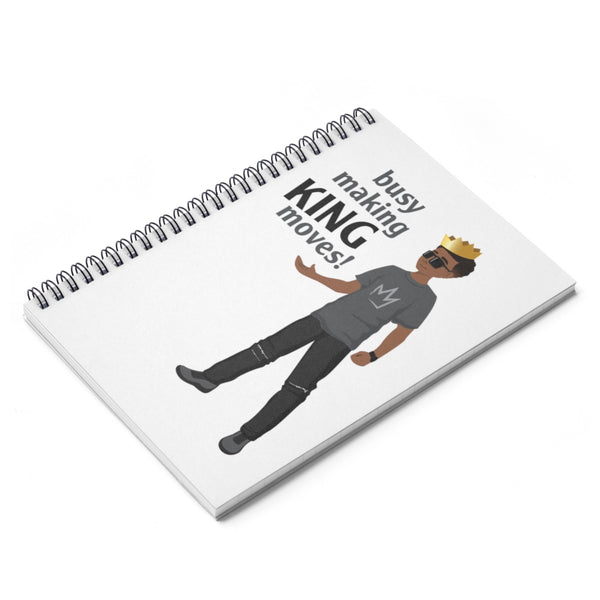 Busy Making King Moves Notebook