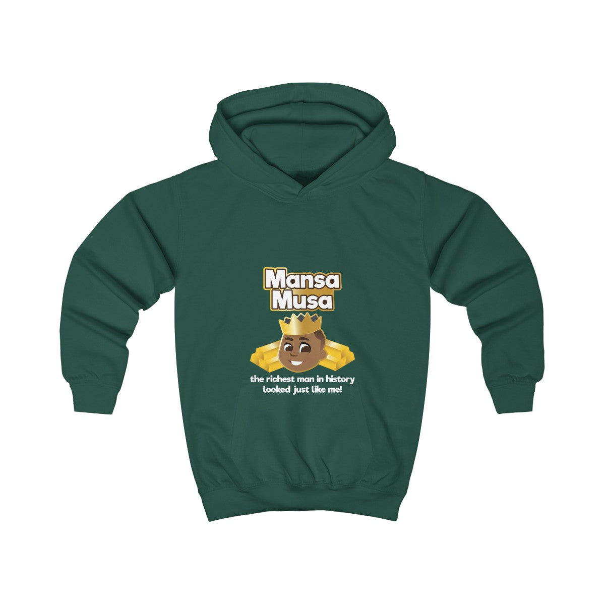 Mansa Musa :Great Is Who I Am  Hoodie