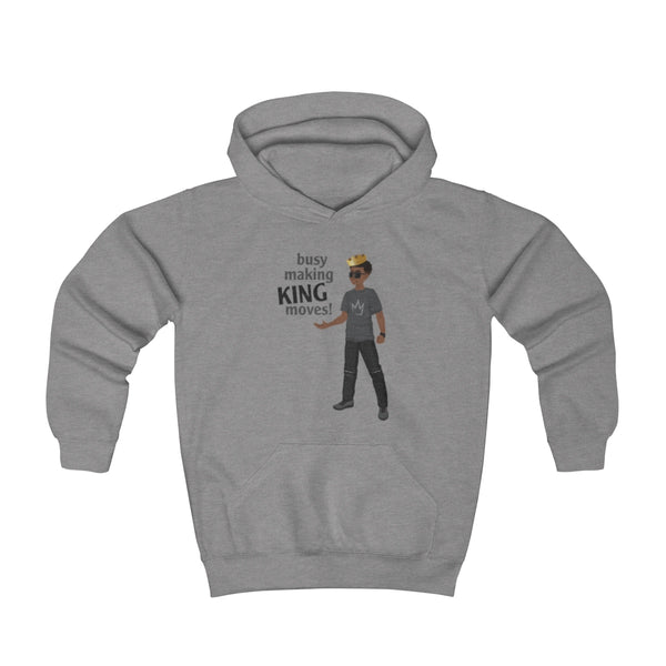 Busy Making King Moves Hoodie