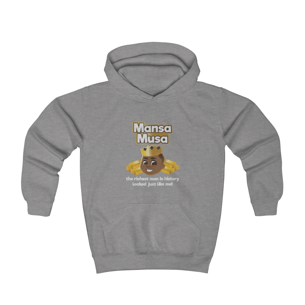 Great Is Who I am -Mansa Musa Toddler Hoodie