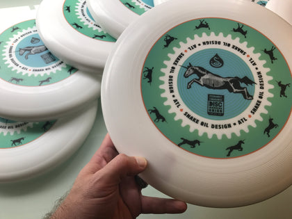 X-ray Unicorn Run Cycle Pulsar Disc (Frisbee)
