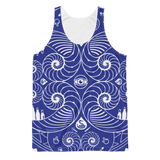 'Design Thinking' Fibonacci/Design Tools Icons Mandala - Unisex Classic Fit Tank Top