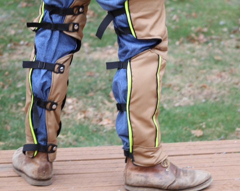 Patented Leg Shields Walk ON with Quarterchaps