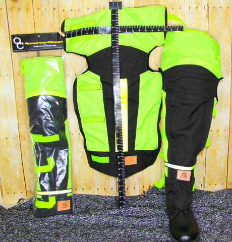 PPE Leg Protection indoor outdoor styles  Patented design Quarterchaps