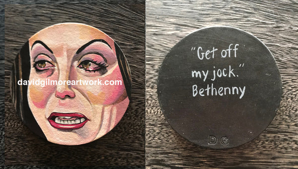 Bethenny Frankel drink coaster