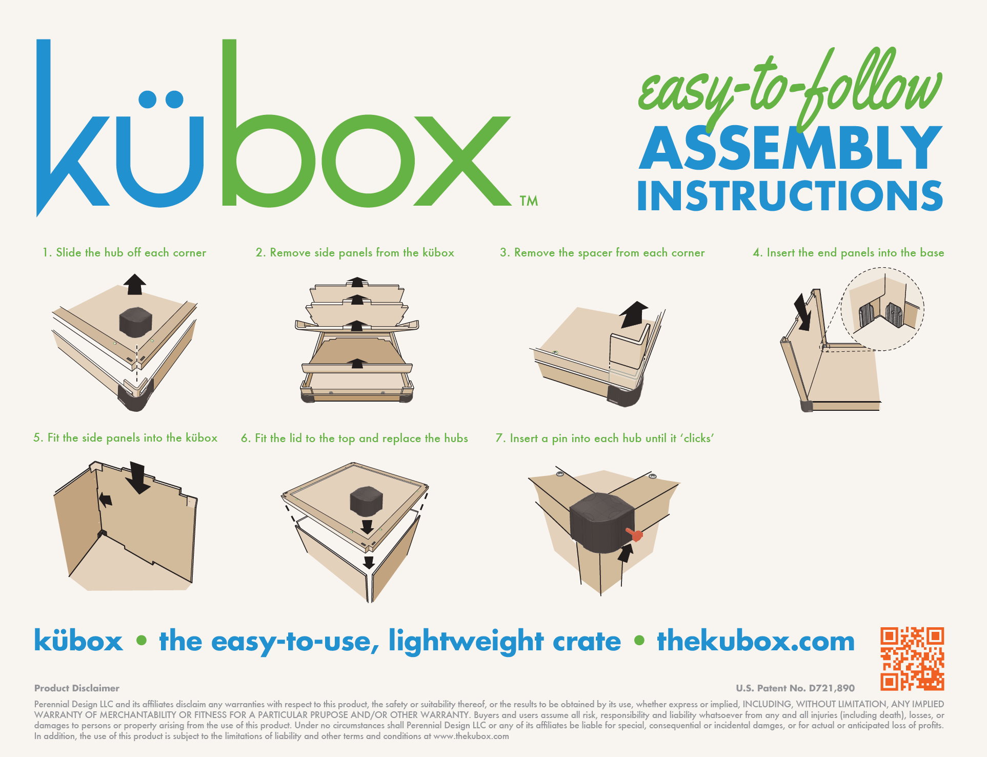 Kubox assembly instructions