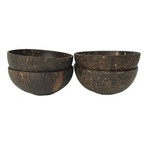 Coconut Bowls: Set of 4 - Truly Vegan