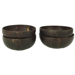 Coconut Bowls: Set of 4