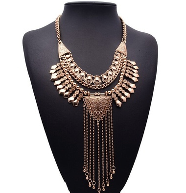 Beautiful Antique Vintage Statement Necklace