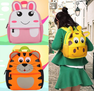 Boys, Girls, Toddlers, Pre School 3D Animal Backpacks