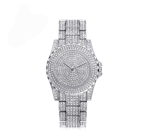 Super Blinged Out High Quality Swarovski Crystal Women's Watch