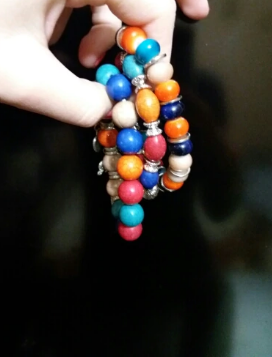 High Quality Boho Bracelets & Bangles With Colorful beads and BEAUTIFUL charms(comes in 3 or 4 pieces)