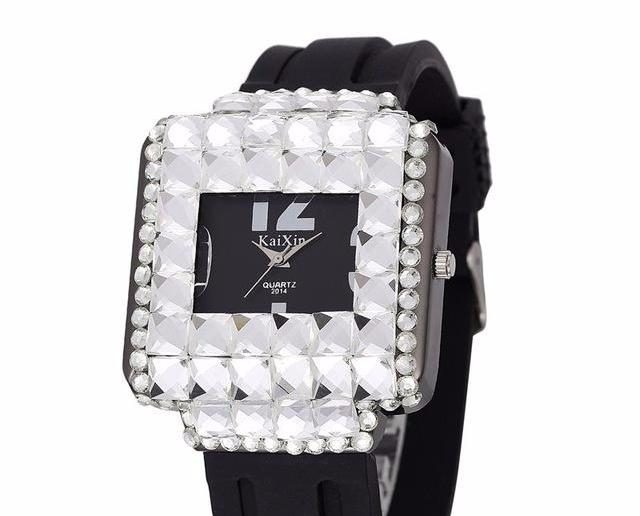 Luxury Crystal Women's Wristwatch
