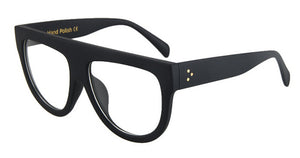 Absolutely Stunning Large Black (and black leopard) Framed Glasses