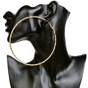 Gigantic Hoop Earrings