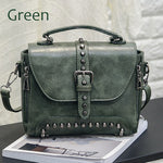 Vintage Leather Crossbody Handbags