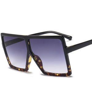 Oversized AVIATOR Square Sunglasses