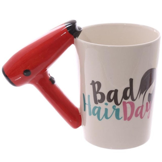 COSMETIC BEAUTY MUGS WITH UNIQUE HANDLES