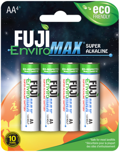 Format 2A4 Super Alkaline Batteries