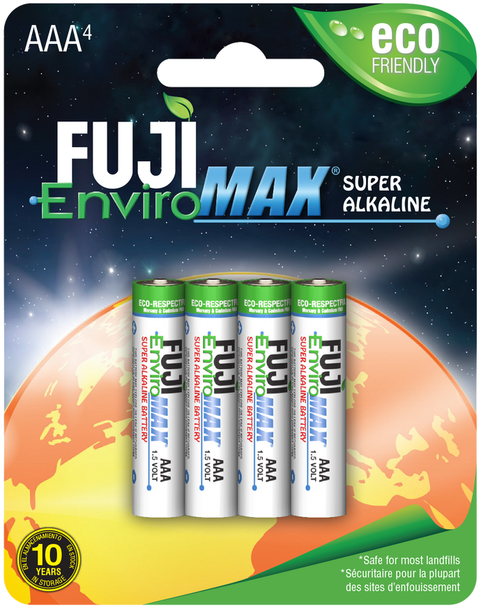 Format 3A4 Super Alkaline Batteries