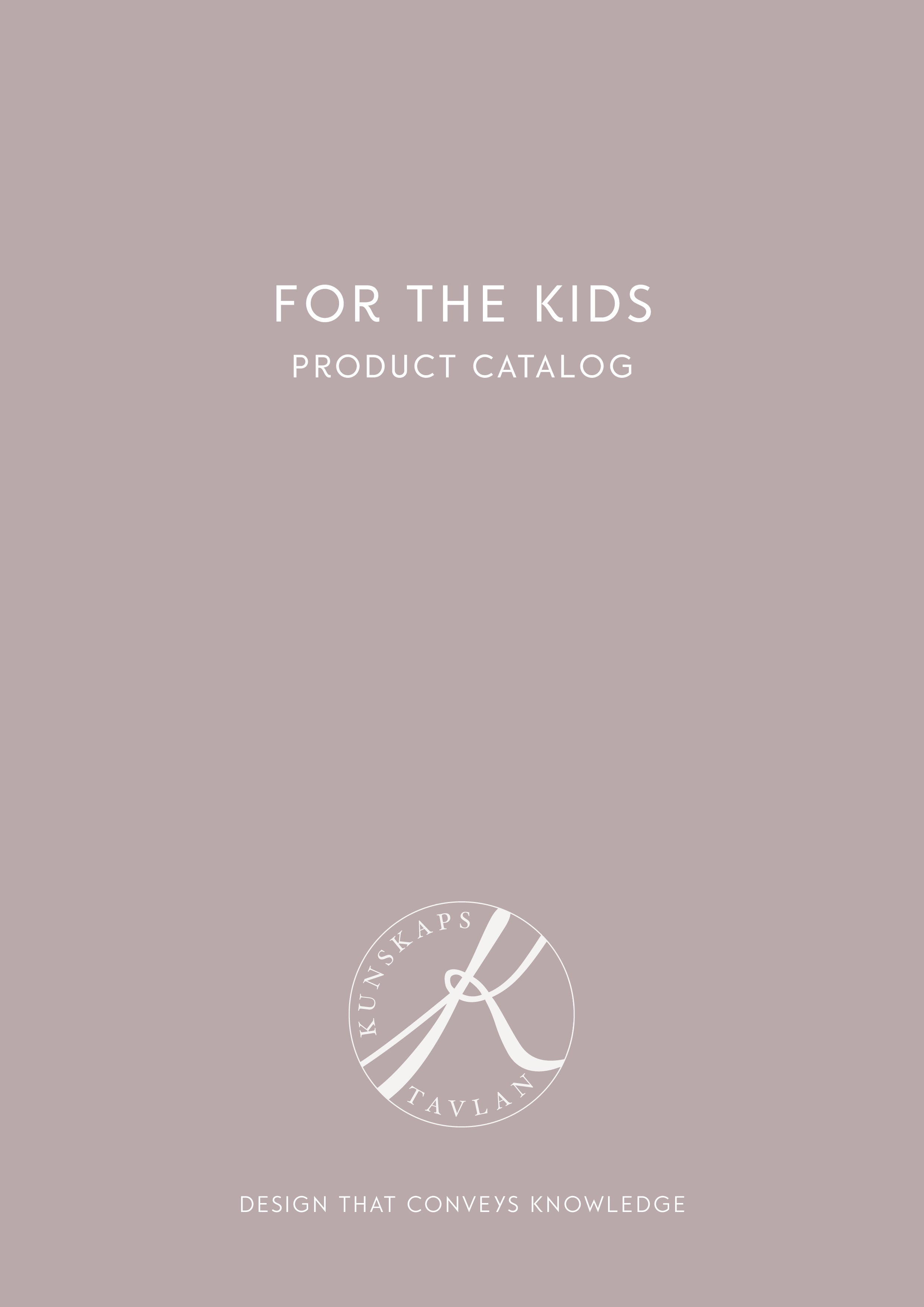 For the kids product catalog Kunskapstavlan