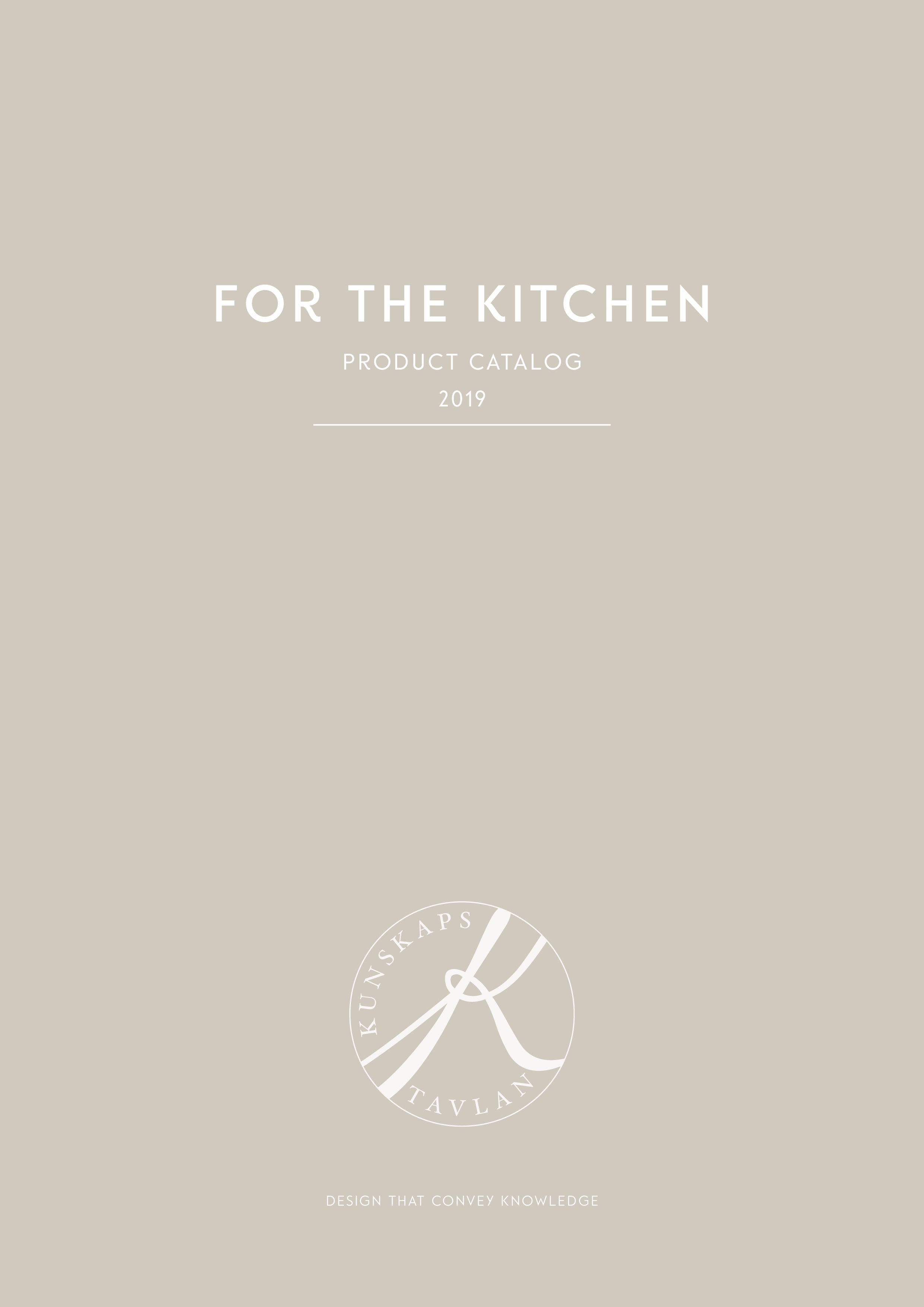 Kunskapstavlan Product Catalog For the Kitchen