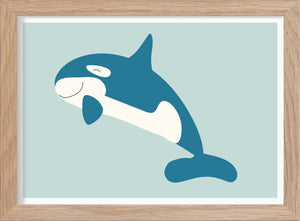 The Killer Whale - Art print A5 - Kunskapstavlan